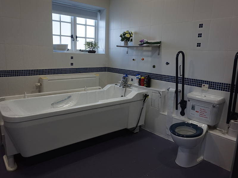 Ensuite facilities for stays