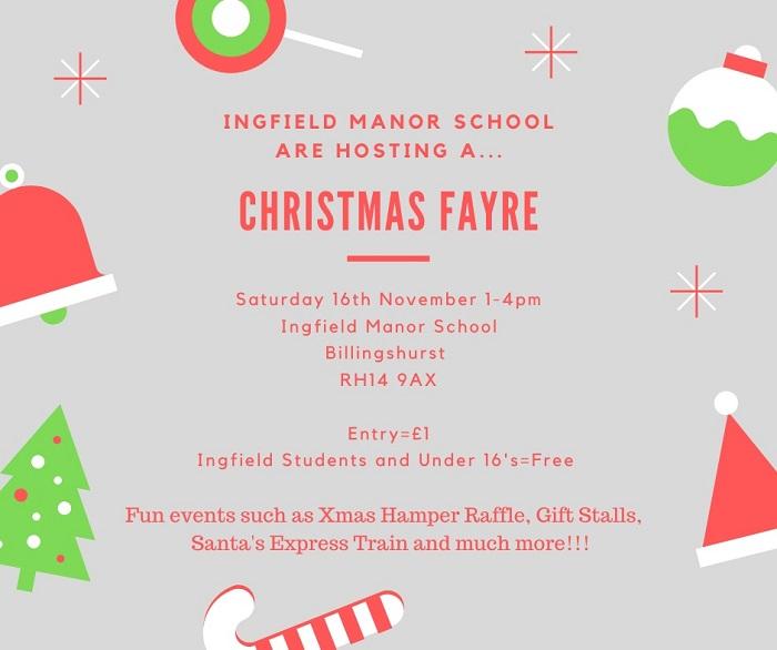 Christmas Fayre 16th November
