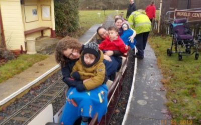 Santa Special Train Ride at Ingfield