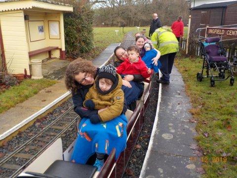Santa Special Train Ride at Ingfield
